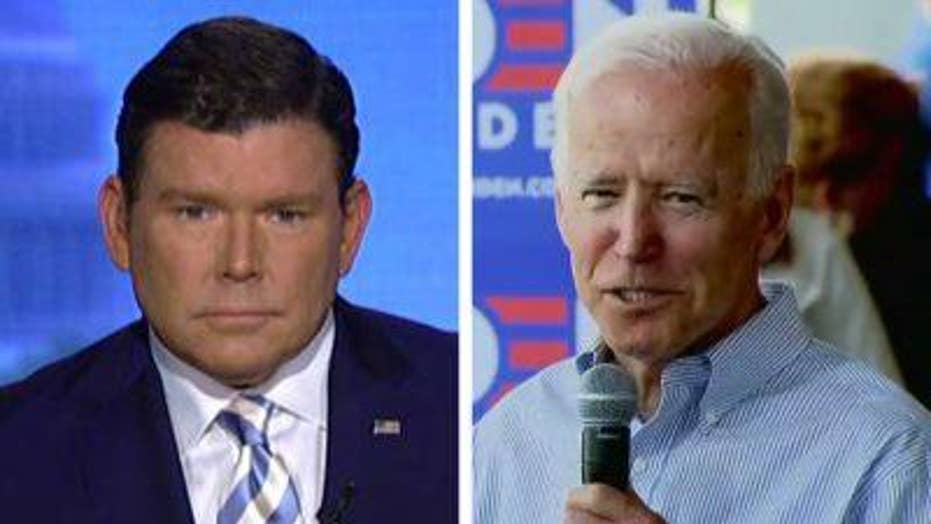 Bret Baier on Joe Biden speech in Iowa