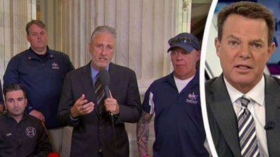Jon Stewart rips Congress over 9/11 victims funding levels