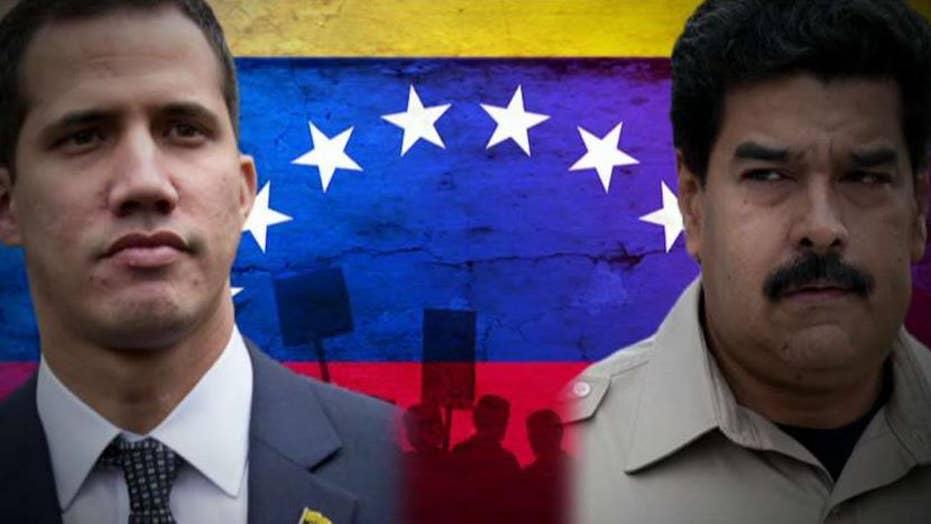 رئيس جمهور متهم نیکلاس مادورو در کنترل ونزوئلا قرار دارد