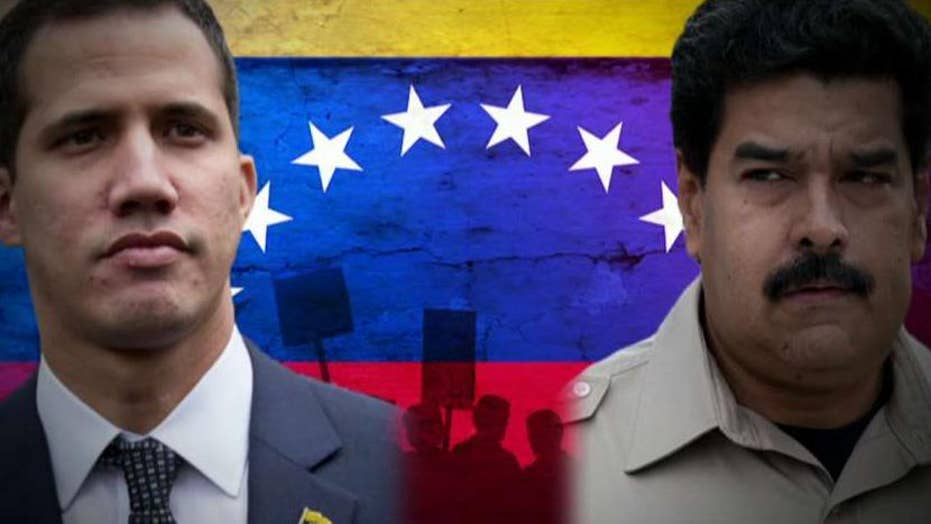 Contested President Nicolas Maduro stays in control of Venezuela