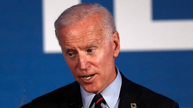 Joe Biden says China is a 'serious challenge' to the US