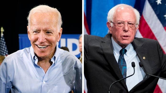 Biden, Bernie to face off on same stage at 1st round of Democratic debates