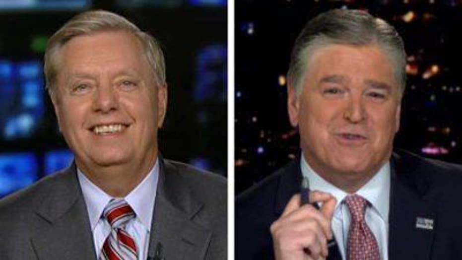 Lindsey Graham and Sean Hannity on Durham probe
