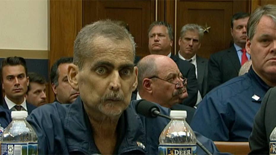 Cancer-stricken retired NYPD detective delivers emotional plea to DC to fund 9/11 Victim Compensation Fund