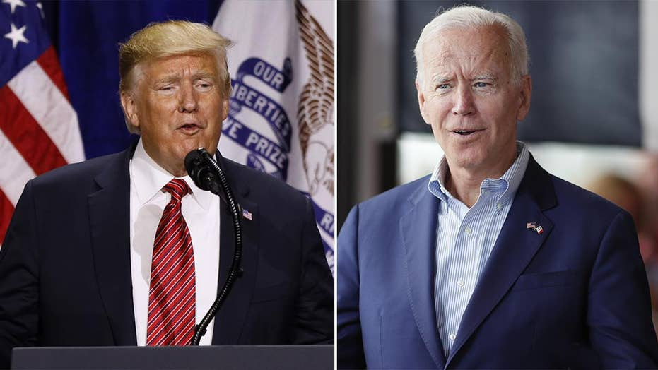 Trump, Biden dismiss early polling in 2020 race after holding dueling events in Iowa