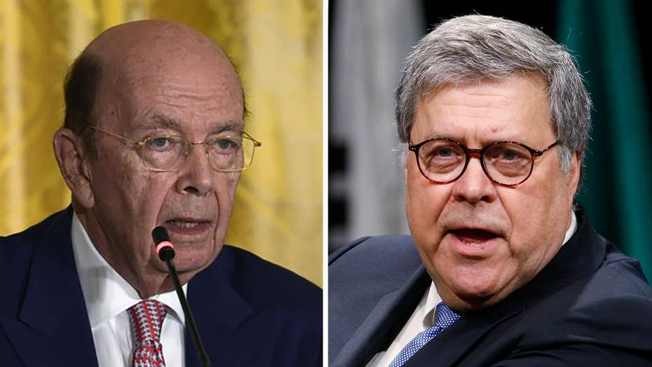 House Oversight and Reform Committee holds contempt vote against Barr, Ross