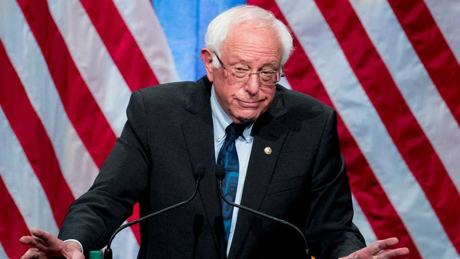 2020 Democrat hopeful Bernie Sanders pitches socialism on the campaign trail