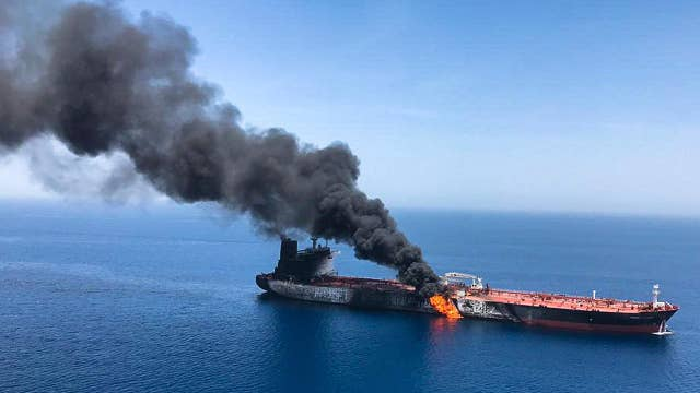 Two oil tankers attacked near Strait of Hormuz, US Navy assists