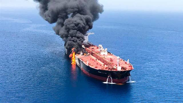 Two oil tankers targeted near Strait of Hormuz