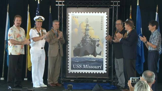New 'Forever' stamp honors USS Missouri
