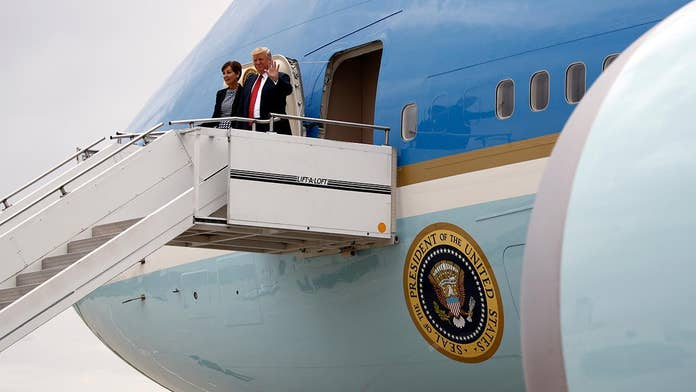 Trump's plan to repaint Air Force One has some Democrats fuming