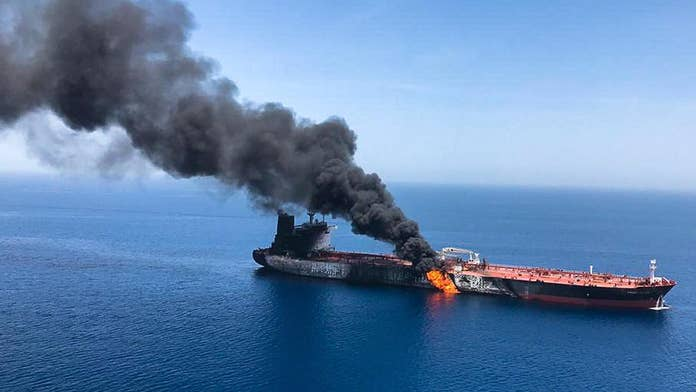Iranian vessel removed unexploded mine from stricken oil tanker in Gulf of Oman, US officials say
