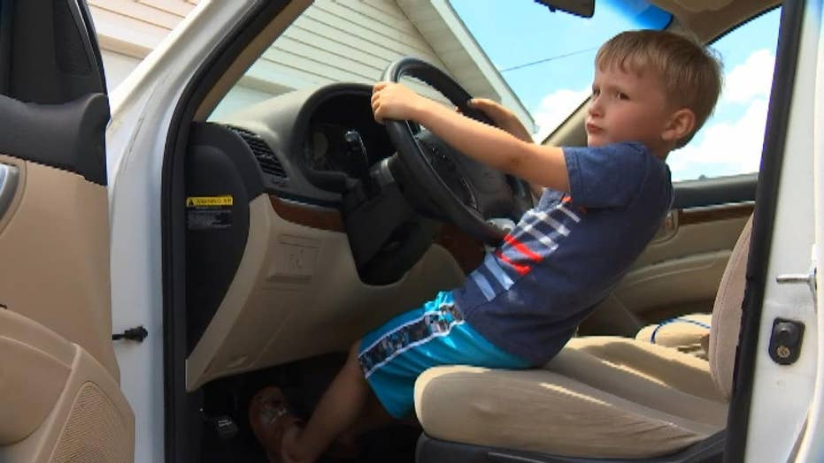 4-year-old boy drives great-grandfather's SUV a mile and a half to buy candy