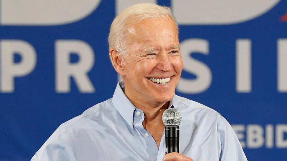 Joe Biden defends 'Make America America Again' slogan