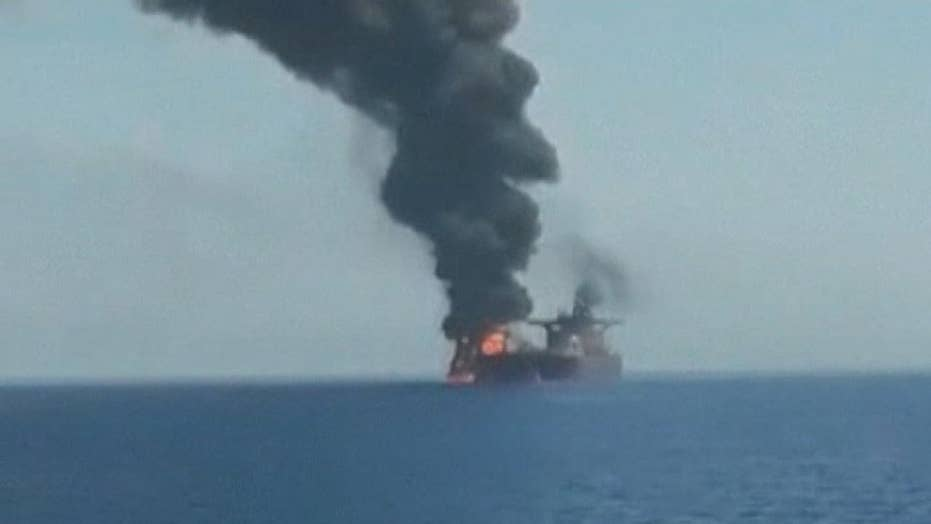 2 oil tankers damaged in suspected attack in the Gulf of