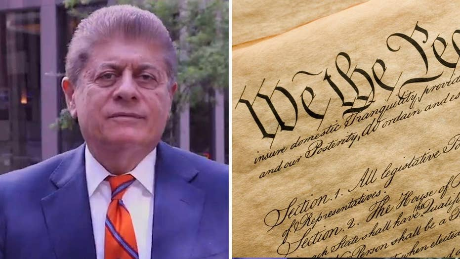 Judge Napolitano: Trashing the Constitution again