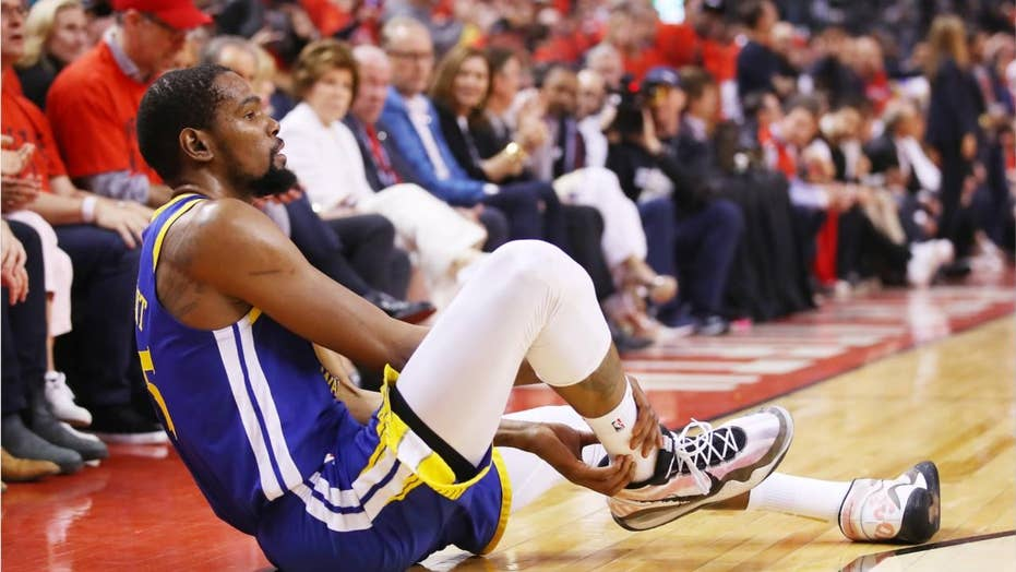 Kevin Durant's injury continues to spark controversy