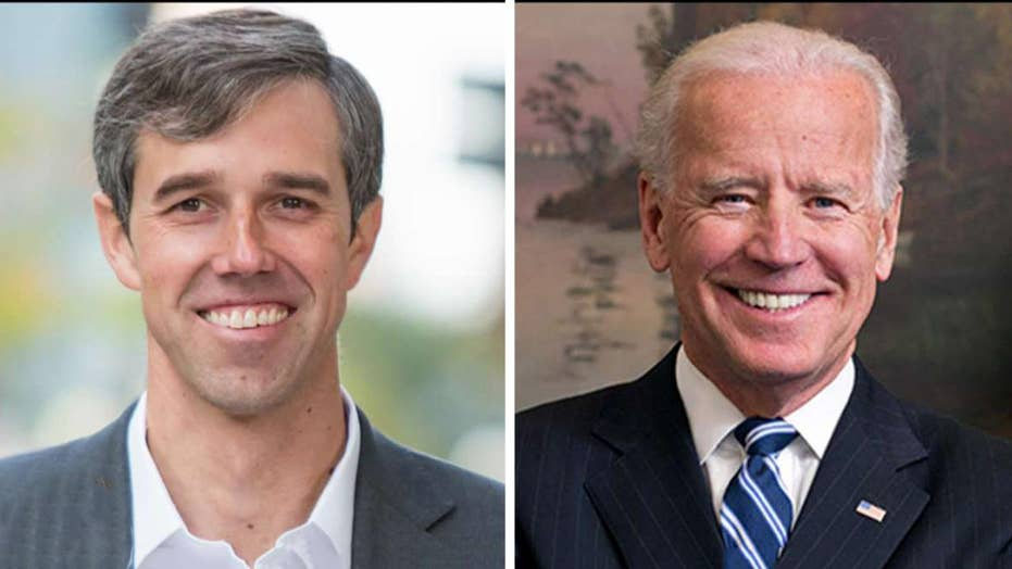 Beto O'Rourke attacks 2020 Democratic presidential frontrunner Joe Biden
