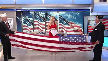 Celebrating Flag Day and how to fold an American flag