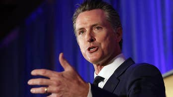 California Gov. Newsom receives flu shot during live news conference: 'It's a simple thing to do'