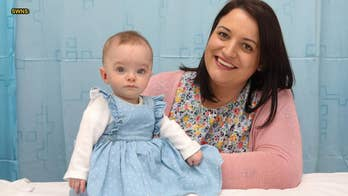 Woman who suffered 13 miscarriages in 10 years celebrates 'miracle' baby
