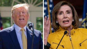 Trump blasts Pelosi, Democrats after backlash over foreign intel remark