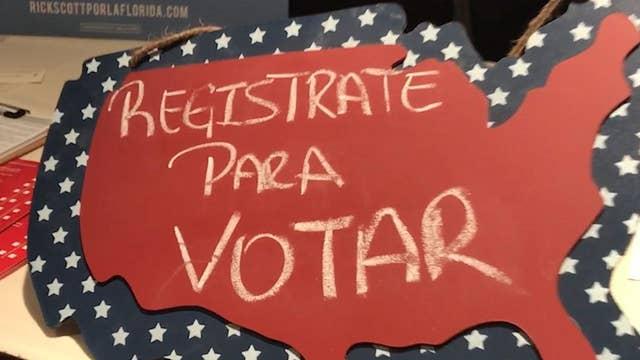 Florida is providing Spanish language ballots across the state