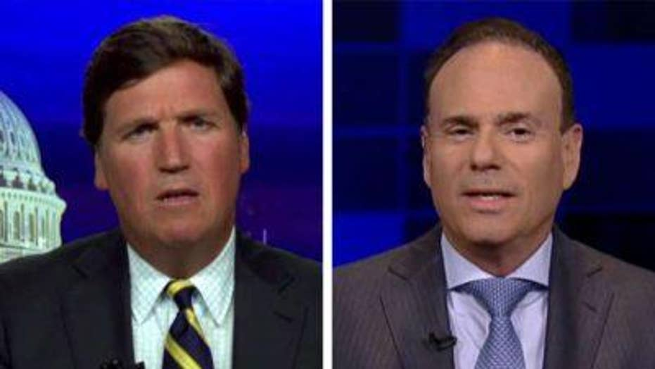 Tucker Carlson and Jay Jacobs