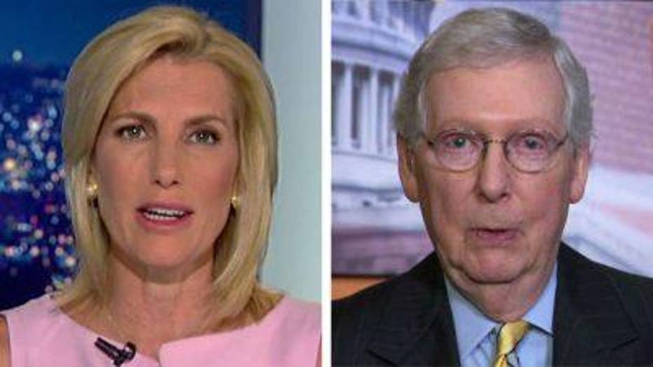 Ingraham and McConnell on Nancy Pelosi comments