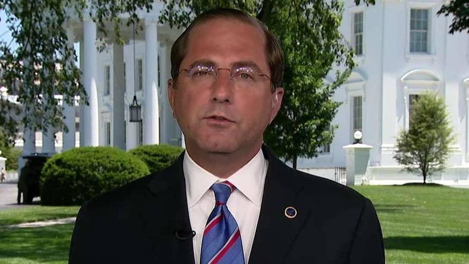 HHS Secretary Alex Azar on urgent request for emergency border security funding: We are out of money
