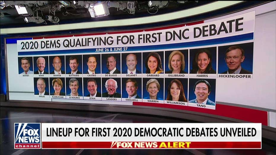 """Outnumbered"" analyzes Democratic debate lineups."