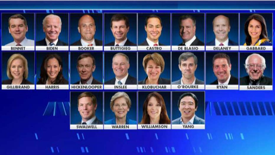 DNC announces lineup for first Democratic debate