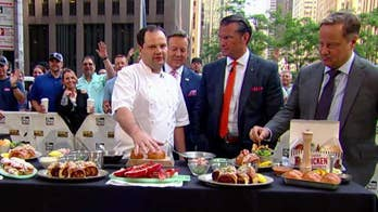 'Fox & Friends' celebrates National Lobster Day