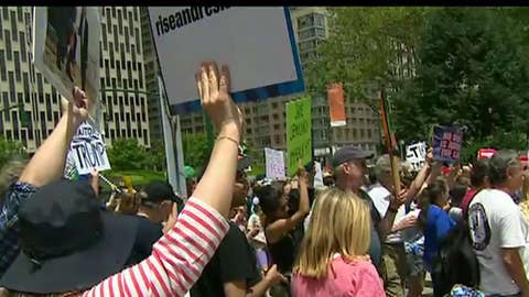 'Impeach Trump' demonstrations organized by Moveon and other activist organizations