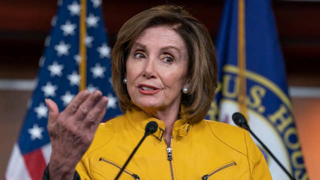 Pelosi holds press conference in San Francisco thumbnail