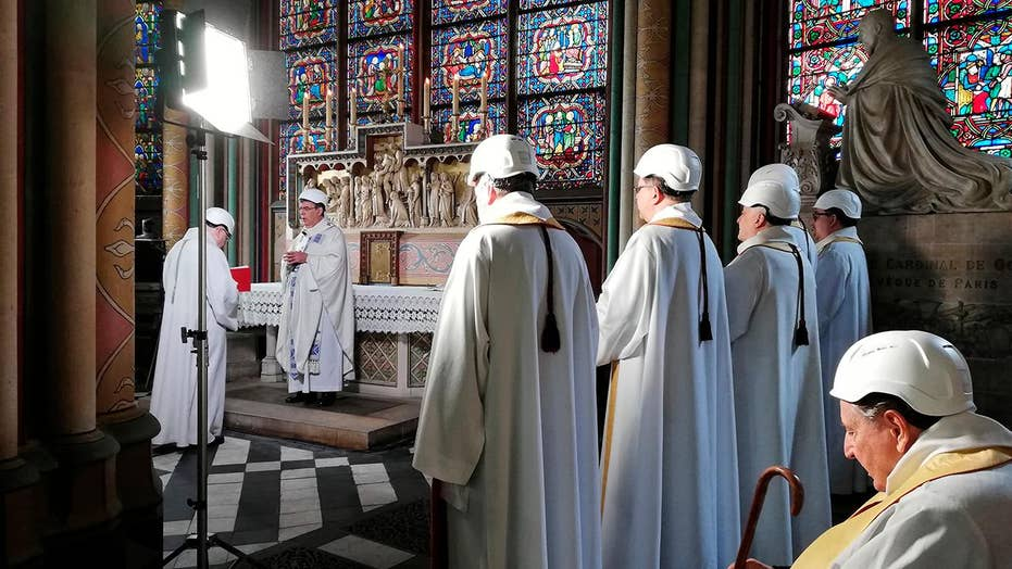 Notre Dame cathedral holds first mass since April fire