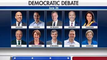 First Democratic debate to be held over two nights