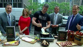 'Fox & Friends' celebrates Father's Day with bacon!