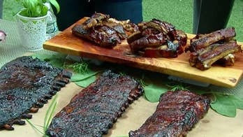 Celebrate Father's Day with a rack of ribs