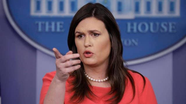 Sarah Sanders' combative tenure