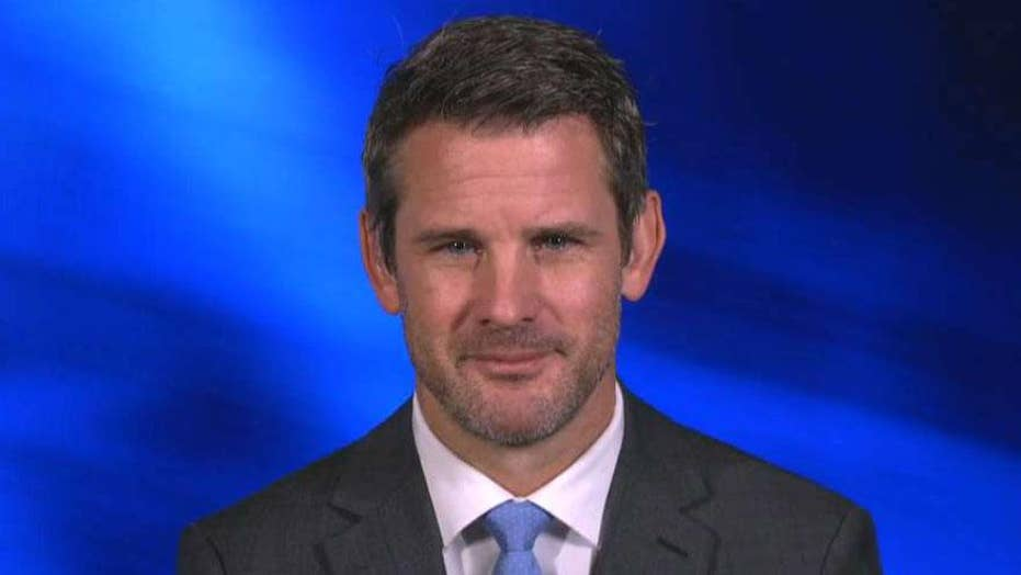 Rep. Adam Kinzinger calls Iran a 'weak country'