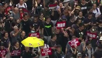 Estimated 2 million protesters return to streets of Hong Kong over extradition bill