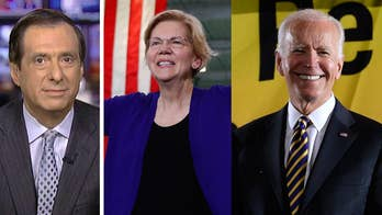 Elizabeth Warren surges on flattering profiles, pundit praise