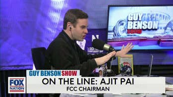 "FCC Chairman, Ajit Pai, Tells Guy Benson to ""Keep it Clean"""
