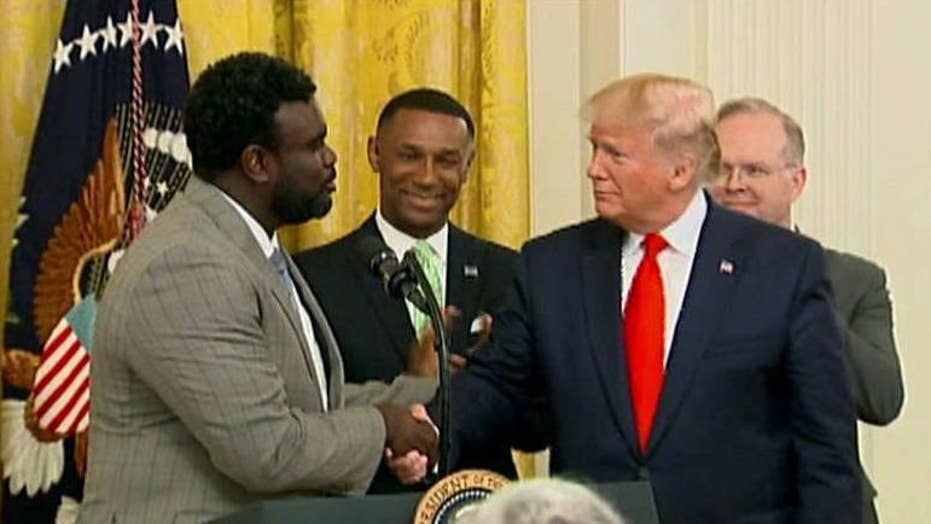 CEO and former inmate Marcus Bullock talks the importance of President Trump's First Step Act