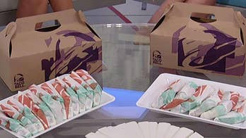Taco Bell gives away free Doritos Locos Tacos