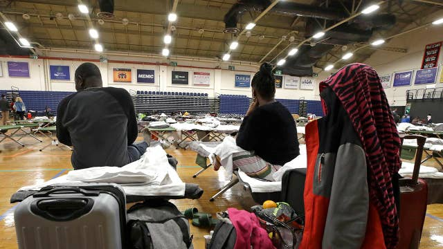 Migrants from Congo and Angola arriving in San Antonio, Texas and Portland, Maine