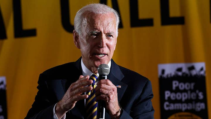 Biden says his campaign has raised nearly $20M; Warren knocks opponents' 'fancy fundraisers'