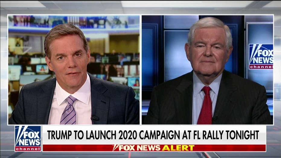Gingrich: 'Miracle Trump is still standing' after overwhelmingly negative press coverage