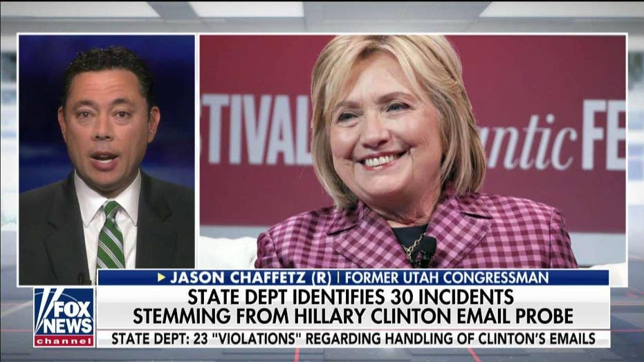 Chaffetz: Pompeo should be 'personally involved' in Clinton email server review
